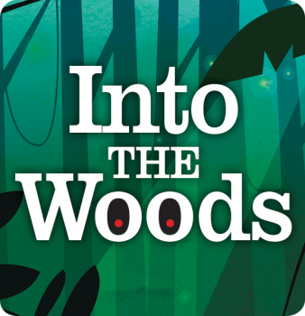 """Into the Woods<br><span style=""""font-size:medium""""> PRESENTED BY </span>SCT & Kansas Wesleyan University"""